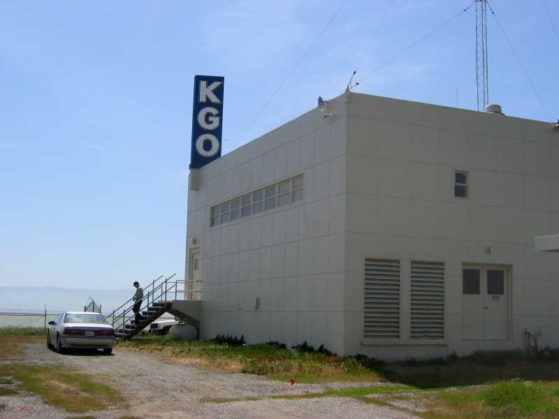 KGO Transmitter Building