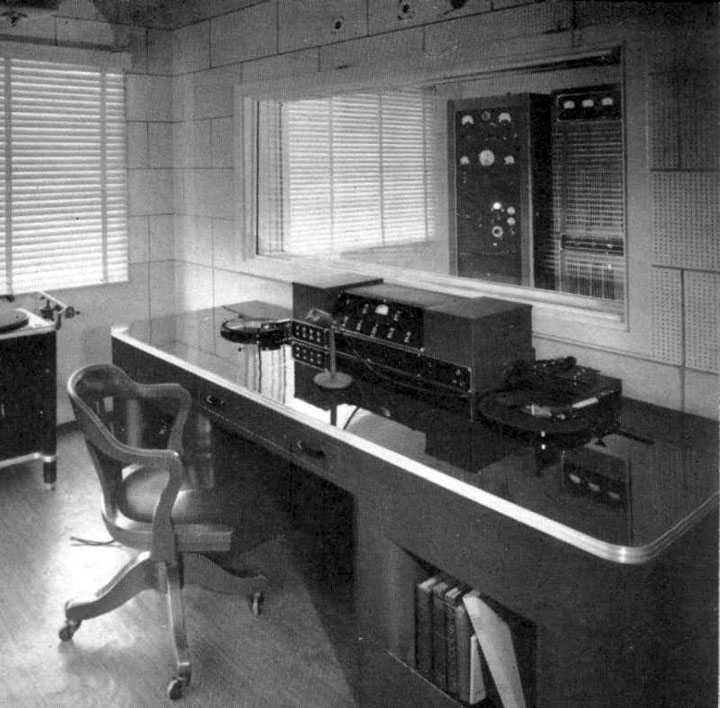 KRE transmitter room
