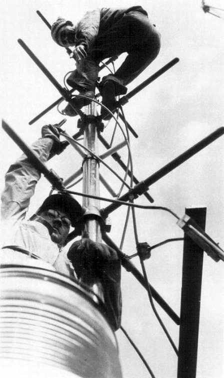 Mounting the FM antenna